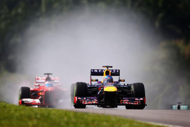 Malaysian Grand Prix 2013: Heat and Rain Likely to Factor into Who Will Win