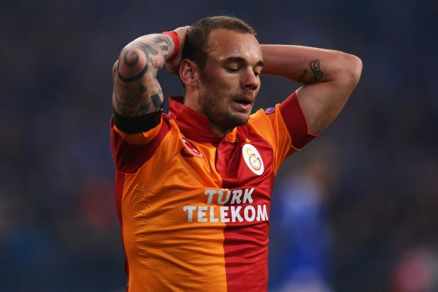 Sneijder out vs. Romania with Groin Injury