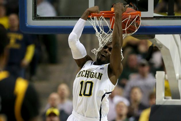 VCU-MICH: (2nd, 10:11) Dunk by Hardaway Jr. - March Madness Video Hub