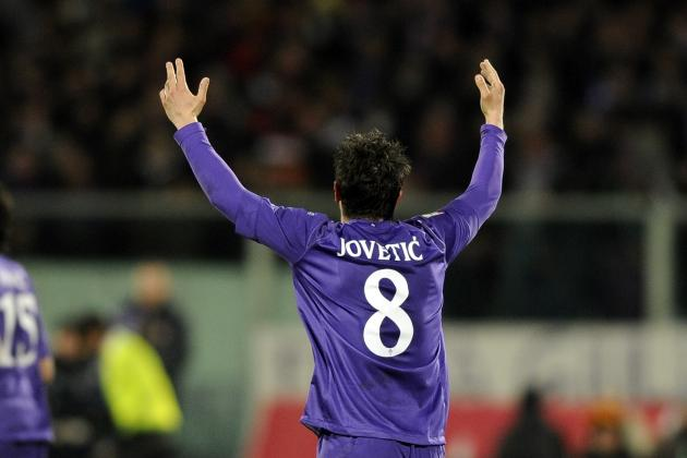 Picking an Arsenal Starting XI to Include Stevan Jovetic