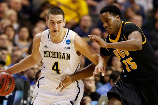 Third Round: Michigan Throttles VCU