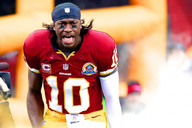 Robert Griffin III Reportedly Recovering from Knee Injury at 'Superhuman' Rate