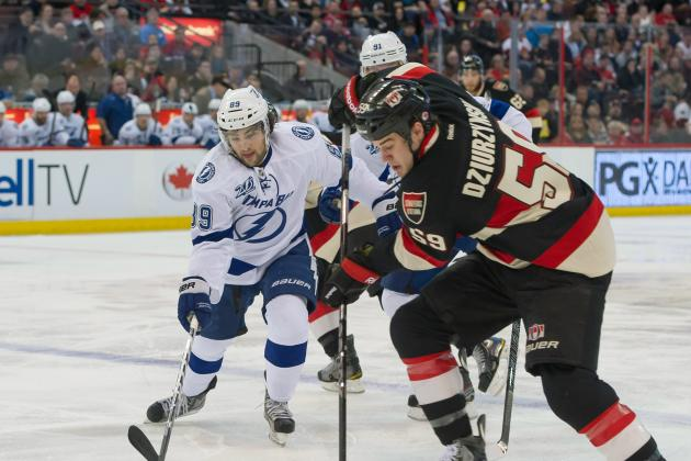 Senators' First-Period Spree Dooms Lightning