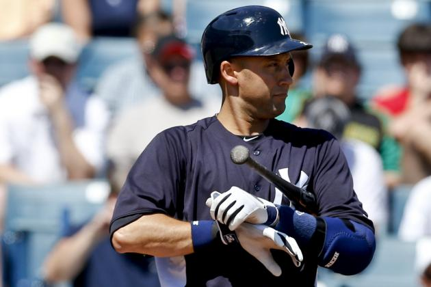 Yankees' Jeter Plays DH in Minor League Game