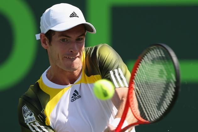 Andy Murray Smashes Potential Star Bernard Tomic at Miami's Sony Open