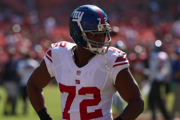 Osi Umenyiora Shows His Preference for Atlanta Falcons