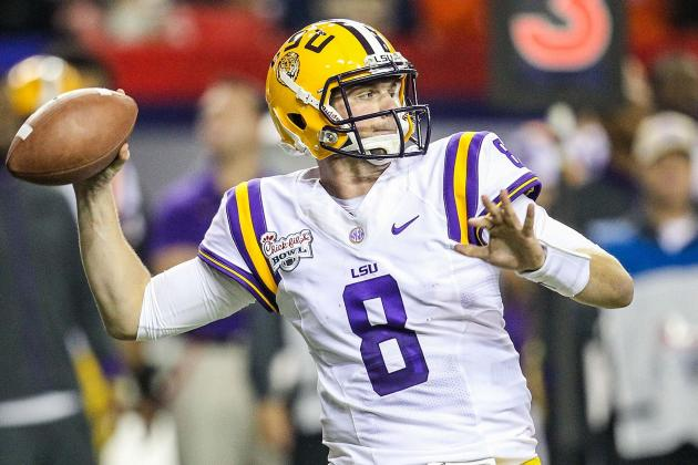 Miles: Mettenberger 'looked Good' in LSU's First Scrimmage