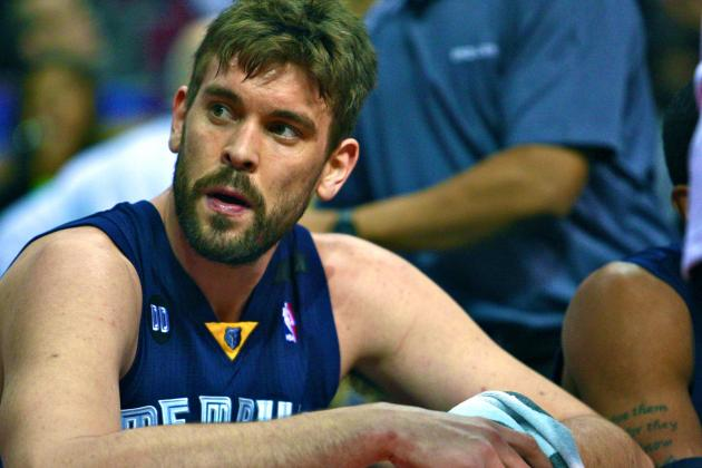 Marc Gasol Injury: Updates on Grizzlies Center's Abdomen