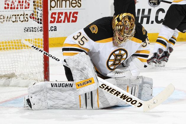 Khudobin Gets Second Straight Start for Bruins