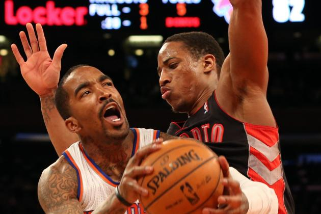 Raptors Fall in Second Game of Home-and-Home to Knicks