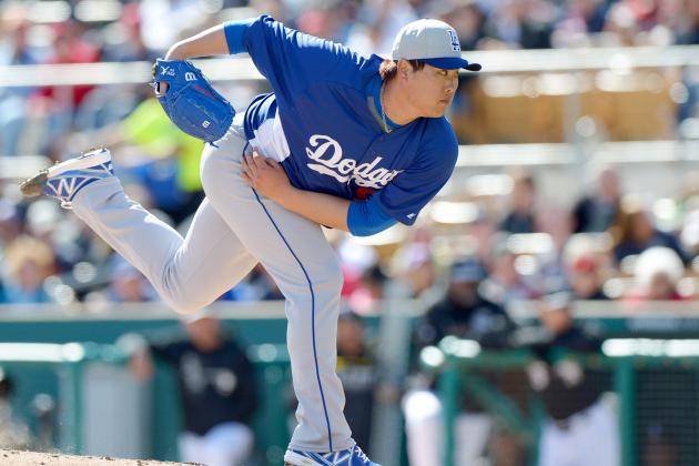 Hyun-Jin Ryu Throws 7 Innings of 1-Hit Ball