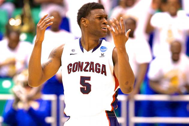 Will Gonzaga Go Down as the Worst No. 1 Seed in NCAA Tournament History?