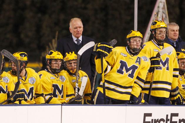 Michigan Poised to Win Final CCHA Title, Earn 23rd Straight NCAA Berth