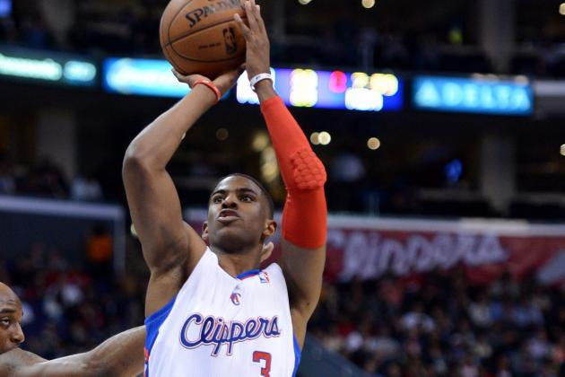 Video: Clippers' Chris Paul Hits Crazy Double-Clutch Shot to Seal Win over Nets