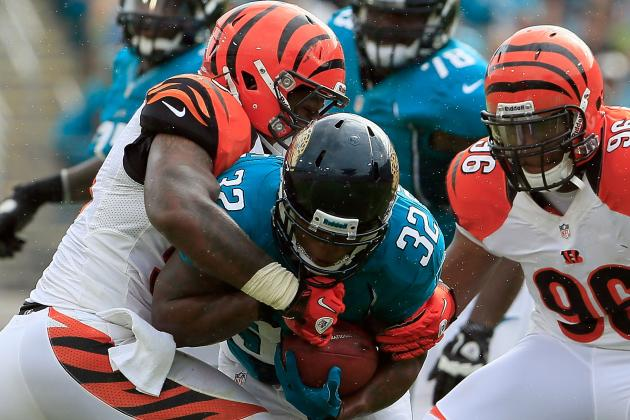 New Helmet Rule Doesn't Sit Well with Jaguars RB Maurice Jones-Drew