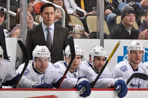Tampa Bay Lightning Fire Head Coach Guy Boucher