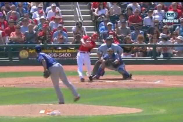 Votto Takes Darvish Out of Stadium