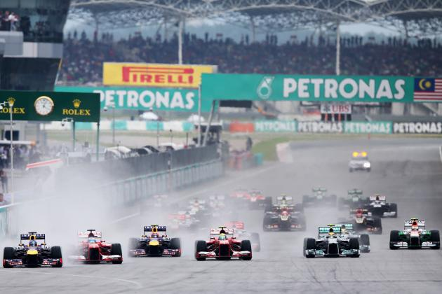 Malaysia GP: Alonso Out, Button, Webber and Rosberg Screwed, Vettel Bad