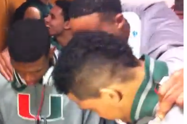 Miami Hurricanes Stay Loose Thanks to Julian Gamble's Freestyle Rapping