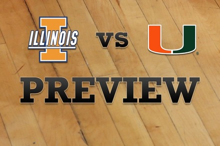 Illinois vs. Miami: Full Game Preview