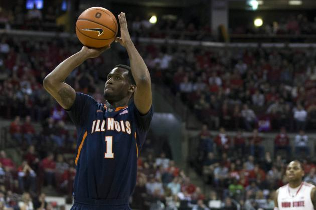 Beating Inconsistent Illinois Requires Stopping 3-Point Shooters