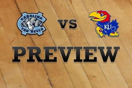 North Carolina vs. Kansas: Full Game Preview