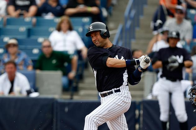 Derek Jeter 'Likely' to Start Season on DL According to Cashman