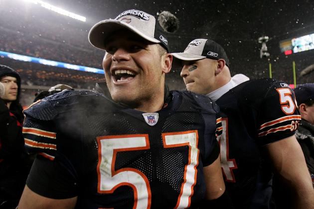 Olin Kreutz, Ex-Chicago Bear and Washington Husky, Praises Brian Urlacher