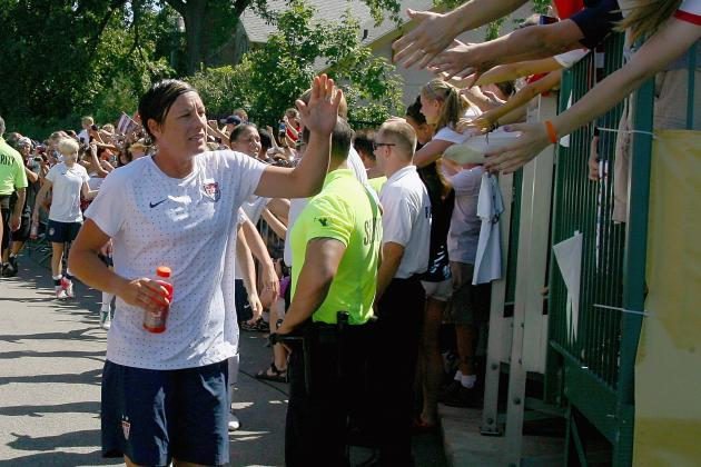 Kodak Moment: Abby Wambach Scores 100th Goal at Home in Rochester