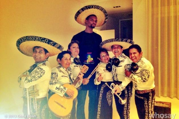 Bosh's Birthday Mariachi Band