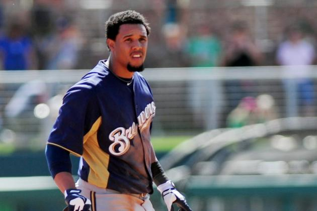 Carlos Gomez Still Dealing with Back Issue