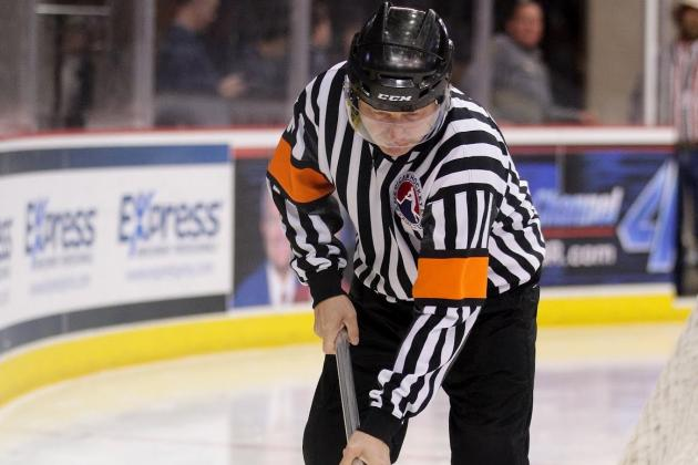 Flight Change Saves AHL Referee and His Family