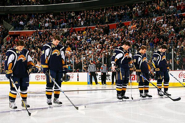 Buffalo Sabres Pay Tribute to Continental Airlines Flight 3407 Crash Victims