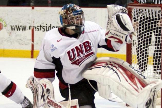 San Francisco Bulls Pick Up UNB Goaltender Travis Fullerton on ATO Contract