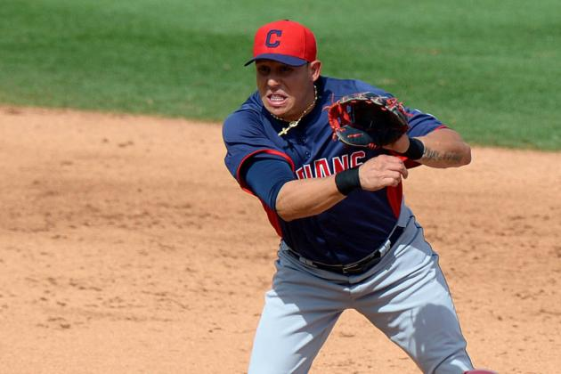 Asdrubal Cabrera Scratched from Lineup with Back Injury