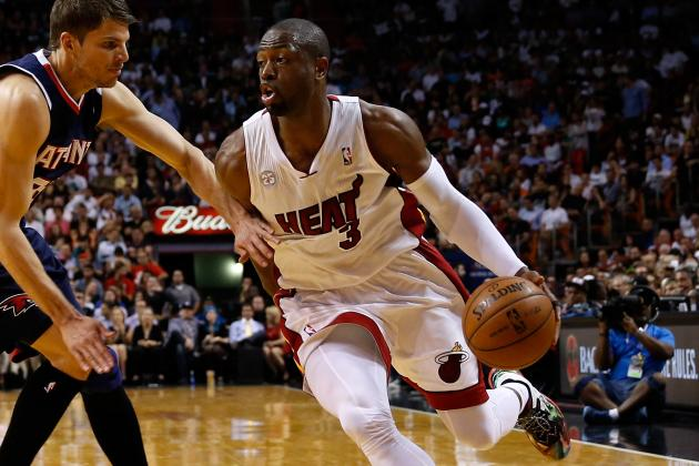 Wade out vs. Bobcats Due to Knee Injury