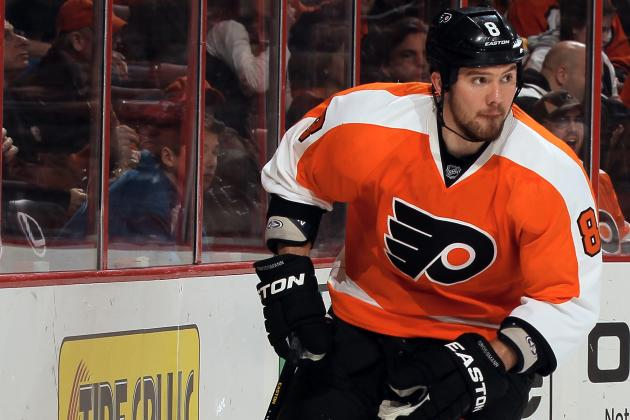 Nicklas Grossmann out vs. Penguins with Upper Body Injury