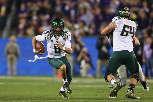 Oregon Football: Does Late Start to Spring Practice Help or Hurt Ducks?