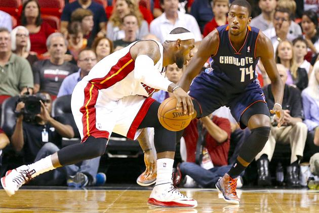 Charlotte Bobcats vs. Miami Heat: Live Score, Results and Game Highlights