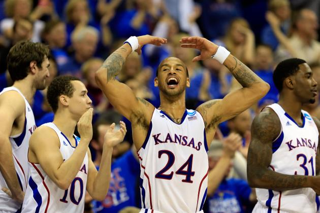 Kansas Tops North Carolina 70-58 on a Strong Second-Half Performance