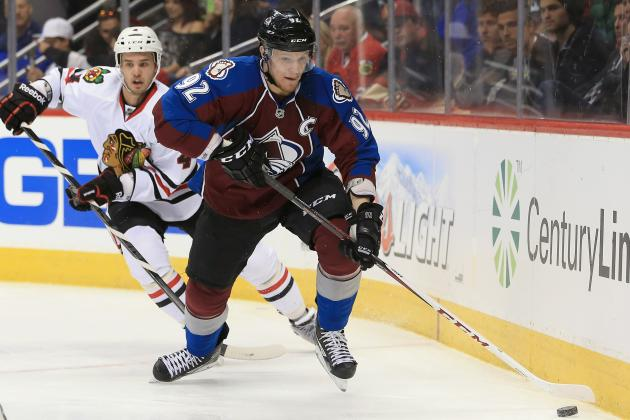 Landeskog in for Avs