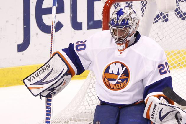 Nabokov Pitches Shutout as Islanders Coast