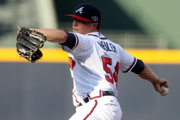 Medlen Struggles on Blustery Day; Venters, Laird Updates