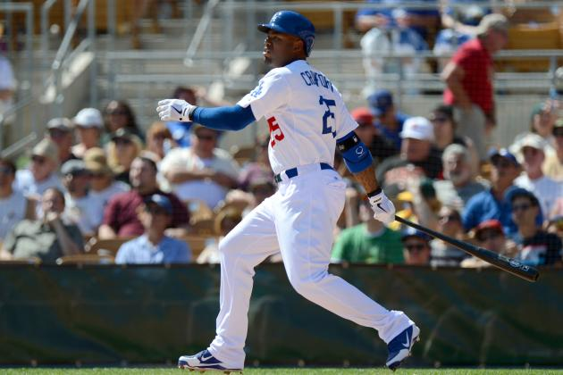 Carl Crawford Hits 1st Home Run for Dodgers in 7-4 Loss to Athletics