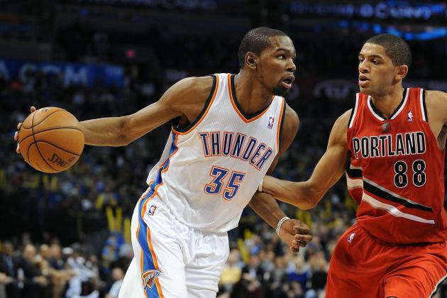 Thunder Turn It on in 2nd Half to Blow by Blazers