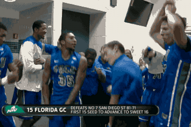Florida Gulf Coast Celebrates Sweet 16 Berth with an Epic Dance Party