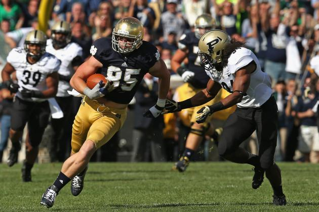 Notre Dame Football: Spring Practice Preview of the Irish's Tight Ends