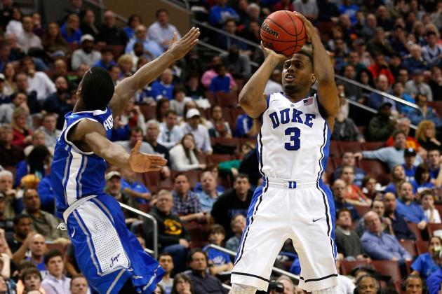 CREIGH-DUKE: (1st, 0:04) 3-Ptr by Thornton: March Madness Video Hub