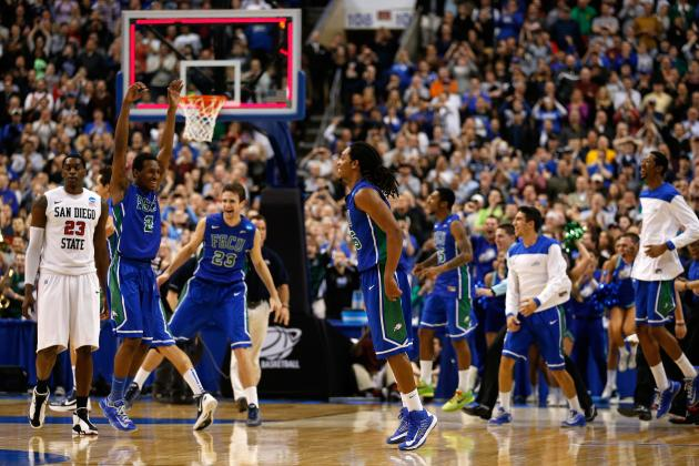 Florida Gulf Coast Basketball: Most Dazzling Images of Cinderella's Sweet 16 Run