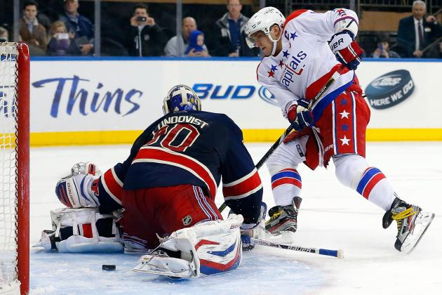Caps Ride Backstrom, Ovechkin by Rangers